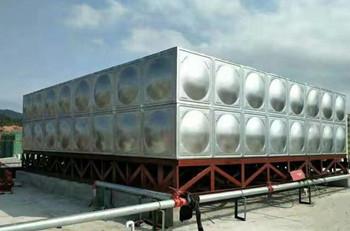 普洱128吨矩形水箱