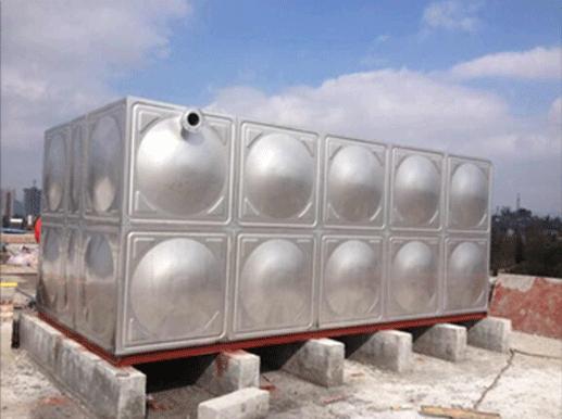 25T矩形不锈钢水箱