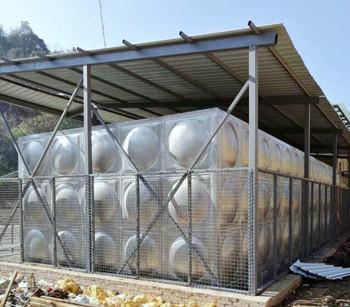 泸西吾者温泉工地  矩形保温水箱225吨